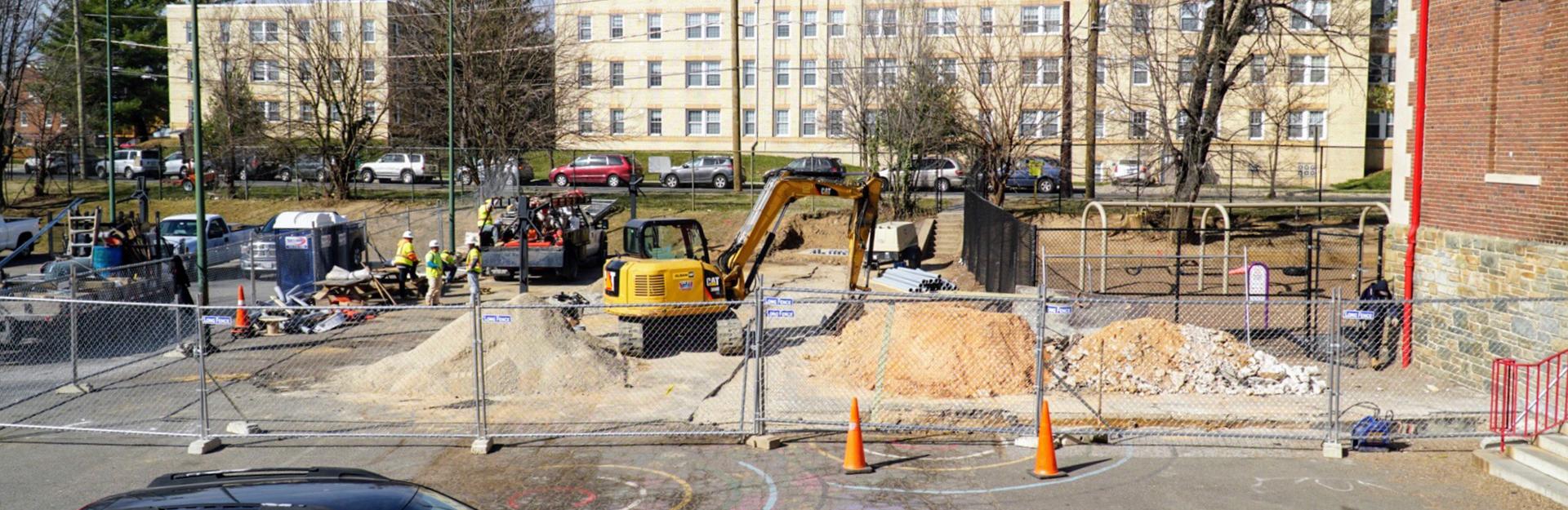 Renovation plans dc bilingual public charter school for Renovation drawings